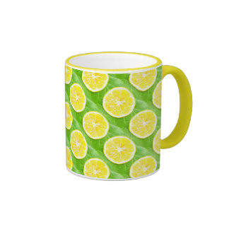 Lemons Coffee Mugs