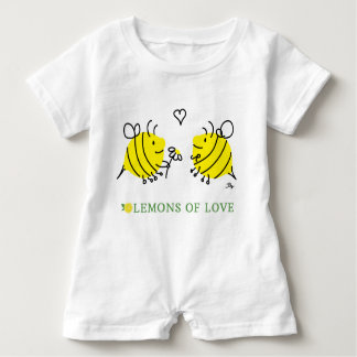 Lemons of Love Lem-bees Baby Bodysuit