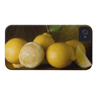 lemons on wood iPhone 4 cover