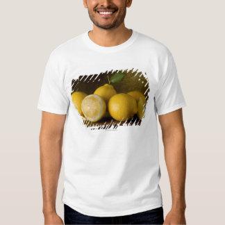 Lemons on Wood T Shirts
