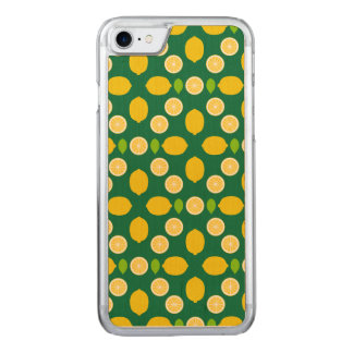 Lemons Pattern Art (Exclusive) Carved iPhone 8/7 Case