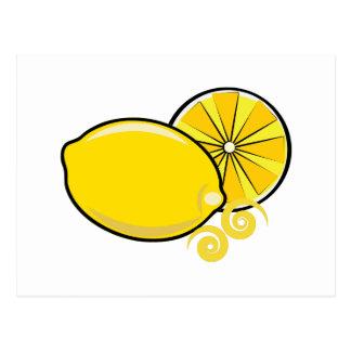Lemons Post Card