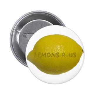 Lemons R Us 6 Cm Round Badge