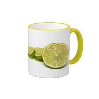 lemons, ringer mug