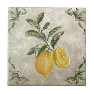Lemons Rustic Ceramic Tile