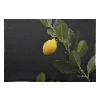 Lemons still on their Branch Placemat