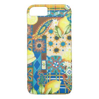 Lemons & Tiles iPhone 7 Case