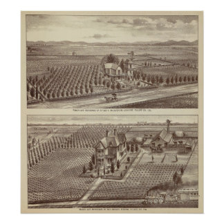 Lemoore, Armona ranches Poster