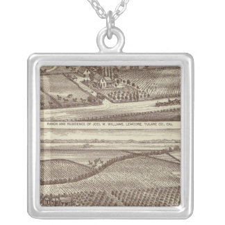 Lemoore, Armona ranches Silver Plated Necklace