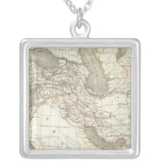 L'Empire d'Alexandre - Empire of Alexander Silver Plated Necklace
