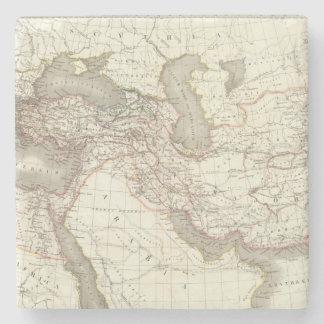L'Empire d'Alexandre - Empire of Alexander Stone Coaster