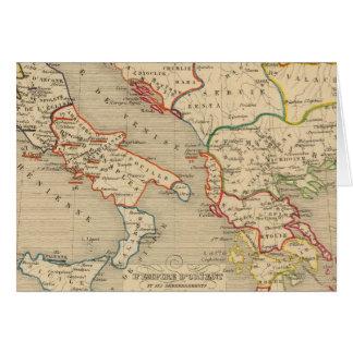 L'Empire d'Orient, l'Italie, 1200 a 1300 Card