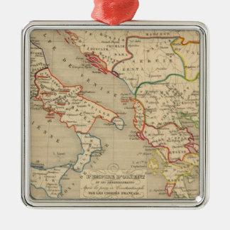 L'Empire d'Orient, l'Italie, 1200 a 1300 Christmas Ornament