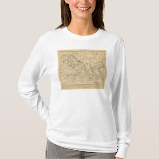 L'Empire d'Orient, l'Italie, 1200 a 1300 T-Shirt