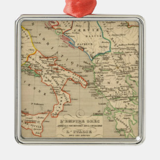 L'Empire Grec, l'Italie, 1002 a 1125 Christmas Ornament