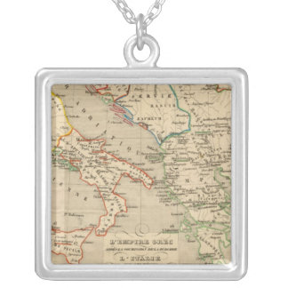 L'Empire Grec, l'Italie, 1002 a 1125 Silver Plated Necklace