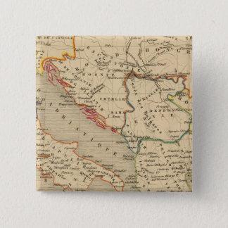 L'Empire Grec, l'Italie, 1125 a 1200 15 Cm Square Badge