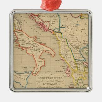 L'Empire Grec, l'Italie, 1300 a 1400 Christmas Ornament