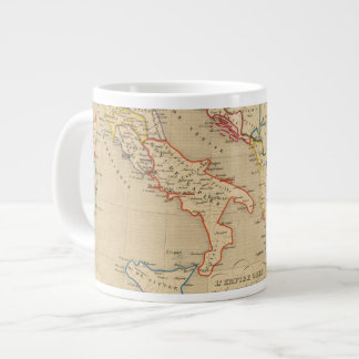 L'Empire Grec, l'Italie, 1300 a 1400 Large Coffee Mug