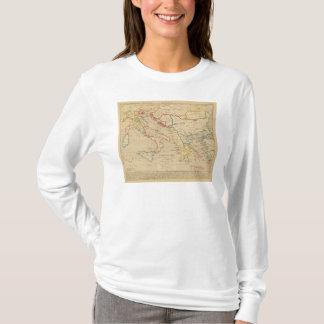 L'Empire Grec, l'Italie, 1300 a 1400 T-Shirt