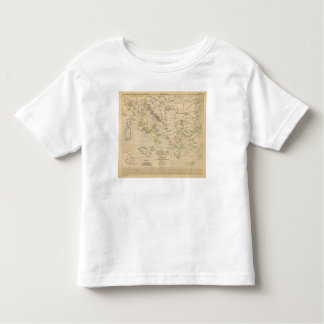 L'Empire Grec, l'Italie, 900 a 1002 Toddler T-Shirt