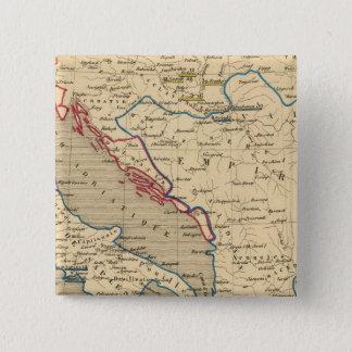 L'Empire Ottoman, la Grece et l'Italie 15 Cm Square Badge