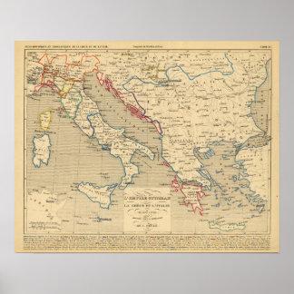 L'Empire Ottoman, la Grece et l'Italie Poster