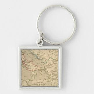 L'Empire Romain d'Orient, Royaume des Lombards Key Ring
