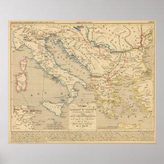 L'Empire Romain d'Orient, Roye des Ostrogoths Poster