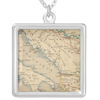 L'Empire Romain d'Orient, Roye des Ostrogoths Silver Plated Necklace
