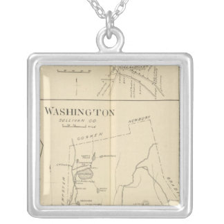 Lempster, Washington, Goshen Silver Plated Necklace