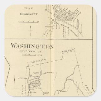 Lempster, Washington, Goshen Square Sticker