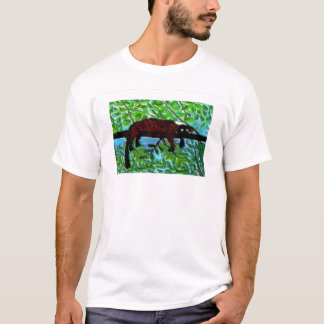 Lemur Art Wild Animal Relaxing T-Shirt