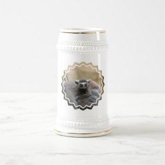Lemur Baby  Beer Stein Mug