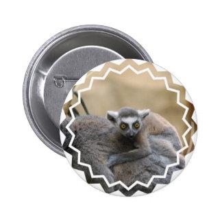 Lemur Baby  Button