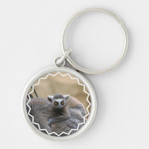 Lemur Baby  Keychain