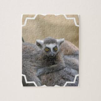Lemur Baby Puzzle