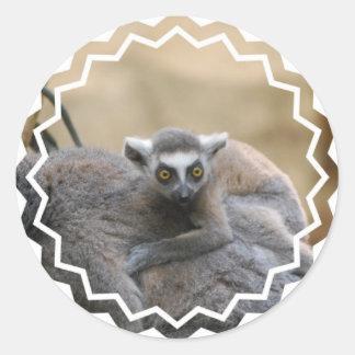 Lemur Baby  Stickers