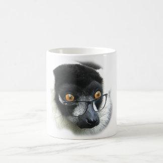 Lemur Basic White Mug