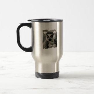 Lemur Face Travel Mug