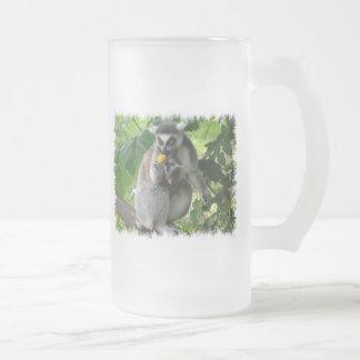 Lemur Frosted Beer Mug