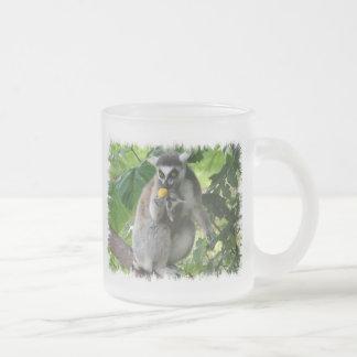 Lemur Glass Coffee Mug