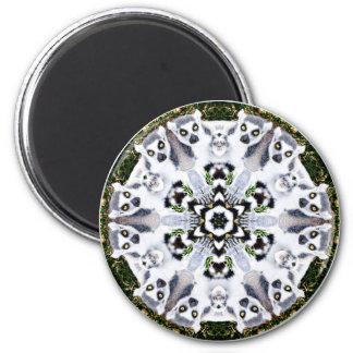 Lemur Kaleidoscope Magnet