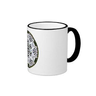 Lemur Kaleidoscope Coffee Mug