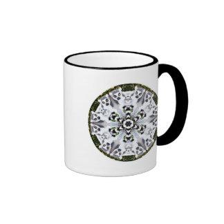 Lemur Kaleidoscope Ringer Mug