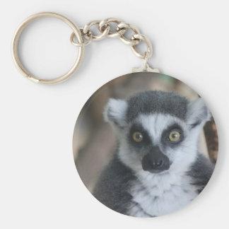 Lemur Key Ring