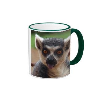 lemur, lemur ringer mug