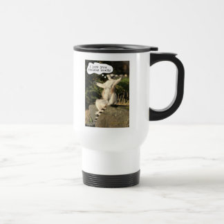 Lemur Love You This Much Funny  Fathers Day Travel Mug