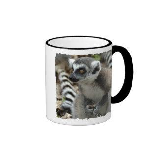 Lemur Monkey Ceramic Coffee Mug