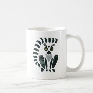 Lemur Classic White Coffee Mug